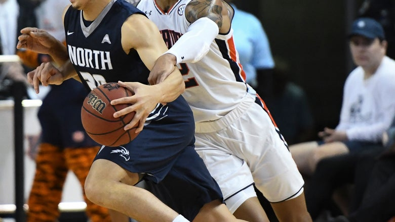 Brown gets 18, No. 12 Auburn routs North Florida 95-49