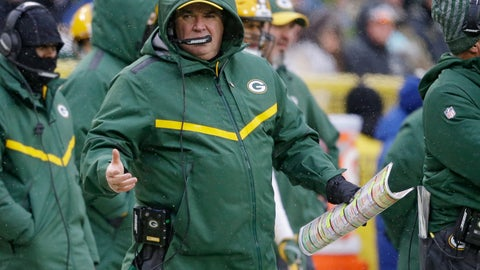 <p>               Green Bay Packers head coach Mike McCarthy reacts to a call made on the field during the second half of an NFL football game against the Arizona Cardinals, Sunday, Dec. 2, 2018, in Green Bay, Wis. McCarthy was fired as head coach following the game. (AP Photo/Jeffrey Phelps)             </p>