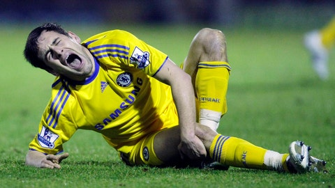 <p>               FILE - In this file photo dated Wednesday, Jan. 14, 2009, Chelsea's Joe Cole reacts after a challenge from Southend's Anthony Grant during their third round FA Cup replay soccer match at Roots Hall Stadium in Southend-On-Sea, England.  Former Chelsea midfielder Joe Cole has returned to the club to coach in its academy system, according to an announcement Friday Dec. 28, 2018. (AP Photo/Matt Dunham, FILE)             </p>