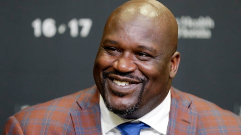 "<p>               FILE - In this Dec. 22, 2016, file photo, retired Hall of Fame basketball player Shaquille O'Neal smiles as he talks to reporters during an NBA basketball news conference in Miami. O'Neal has been to enough parties before Super Bowls to know that he can do much better. ""I've been to a million Super Bowl parties the past 15 years, and they're all boring,"" O'Neal said. ""So this is Atlanta, I'm bringing the party to Atlanta. I wanted to do something big, so I called my friends."" (AP Photo/Alan Diaz, File)             </p>"