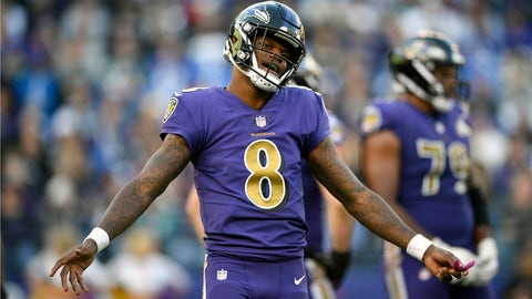 <p>               FILE - In this Nov. 25, 2018, file photo, Baltimore Ravens quarterback Lamar Jackson stands on the field in the second half of an NFL football game against the Oakland Raiders,  in Baltimore. Since taking over as the starting quarterback, rookie Lamar Jackson has revitalized the Ravens running attack and kept opposing offenses off the field by dominating time of possession. He will need do that again this week to help slow down the high-flying Kansas City Chiefs, who lead the NFL with 37 points per game. (AP Photo/Nick Wass, File)             </p>