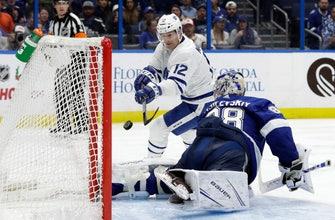 Vasilevskiy shines in return, Lightning beat Maple Leafs 4-1