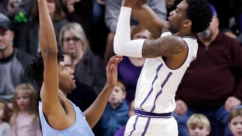 <p>               Northwestern forward Vic Law, right, shoots over Columbia forward Randy Brumant during the first half of an NCAA college basketball game Sunday, Dec. 30, 2018, in Evanston, Ill. (AP Photo/Nam Y. Huh)             </p>