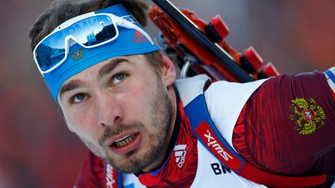 <p>               FILE - In this Jan. 10, 2018, file photo, Anton Shipulin of Russia competes during the men's 20 km individual competition at the biathlon World Cup in Ruhpolding, Germany. Shipulin, a world biathlon champion at the heart of Russia's doping scandal, has announced his retirement. (AP Photo/Matthias Schrader, File)             </p>