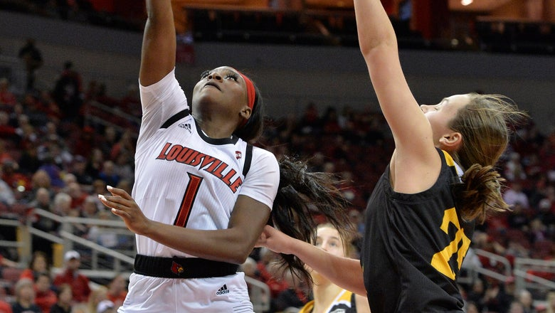 Evans leads No. 4 Louisville women past Northern Kentucky