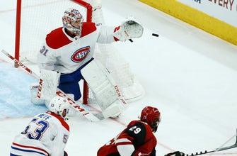 Price's 36 saves help Canadies beat Coyotes 2-1