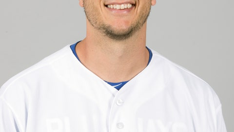<p>               FILE - This is a 2018 file photo showing Troy Tulowitzki of the Toronto Blue Jays baseball team. Tulowitzki has been released by the Blue Jays, who owe the oft-injured shortstop $38 million for the remaining two years of his contract. Now 34, Tulowitzki has not played in the major leagues since July 2017. He was limited that year to 66 games because of a hamstring and right ankle injury. The ankle required surgery last spring and he missed the entire season. (AP Photo/John Minchillo, File)             </p>