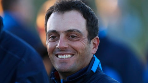 <p>               FILE - In this Tuesday, Sept. 25, 2018 file photo, Francesco Molinari smiles as he prepares for the European Ryder Cup team photo at Le Golf National in Guyancourt, outside Paris, France. Francesco Molinari says he may not play in Europe until the 19th-ranked Italian defends his British Open title in July. The lure of the US PGA Tour and changes made to the European Tour calendar will combine to leave the London-based golfer short of available dates to compete on his home circuit next year. (AP Photo/Alastair Grant, File)             </p>