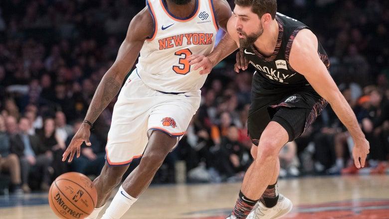Dinwiddie scores 25, Nets top Knicks 112-104