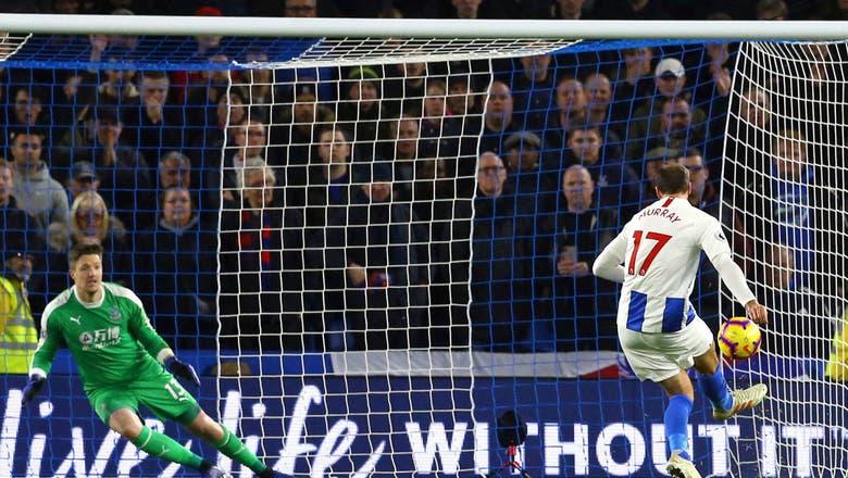 10-man Brighton beats fierce rival Palace 3-1 in EPL