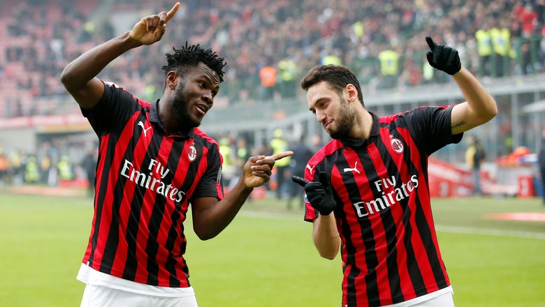 AC Milan beats Parma 2-1 to move into top 4 in Serie A
