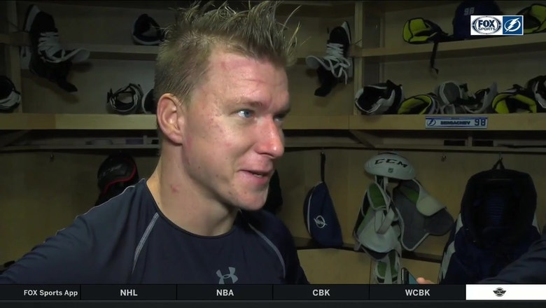 Ondrej Palat on his first points of the season