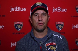 Panthers coach Bob Boughner on getting ready to face Bruins for the 1st time