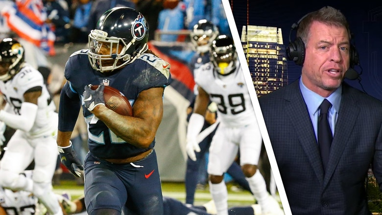 Troy Aikman: Derrick Henry makes Titans 'fun to watch' with record-tying 99-YD TD