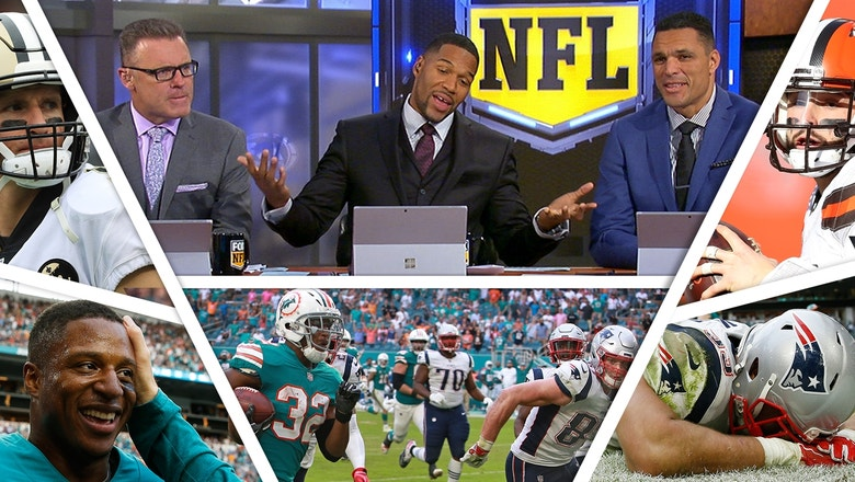 The FOX NFL crew breaks down a wild Week 14 and wins by the Saints, Dolphins, and Browns
