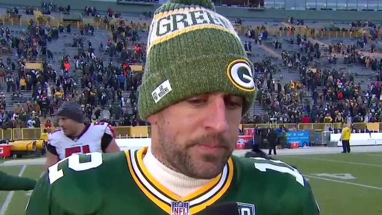 Aaron Rodgers says the Packers responded after coaching shakeup