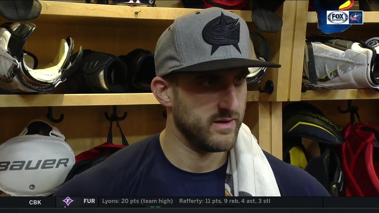 Captain Nick Foligno thinks the Blue Jackets have been playing too much one on one hockey lately