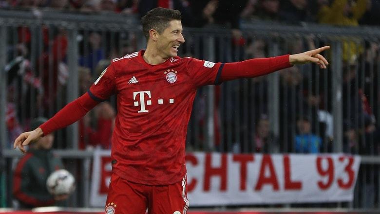 Watch Robert Lewandowski score a brace and give Bayern Munich the victory against Nurnberg | 2018-19 Bundesliga Highlights