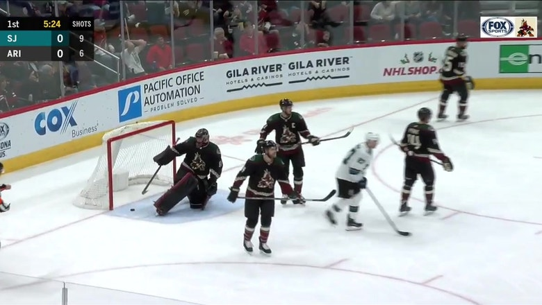 HIGHLIGHTS: Coyotes erase deficit but lose on late goal