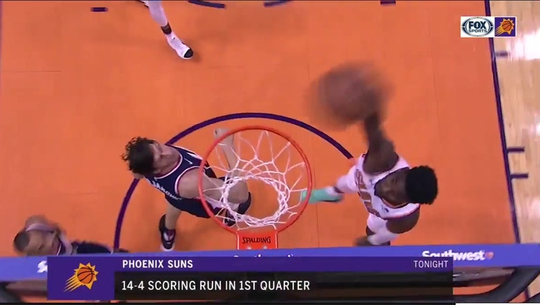 HIGHLIGHTS: Suns take Clippers to OT but can't seal deal