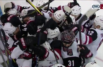 HIGHLIGHTS: Coyotes fight way back to beat Rangers in OT