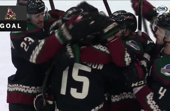 HIGHLIGHTS: Coyotes lose 3-goal lead, rally for win