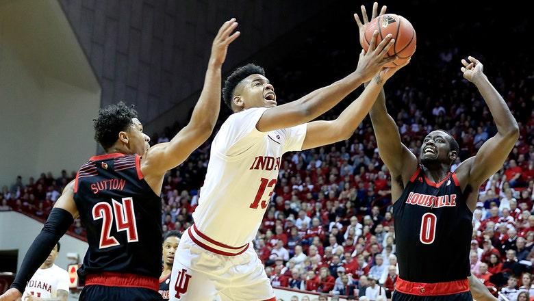 Indiana edges Louisville in 68-67 thriller