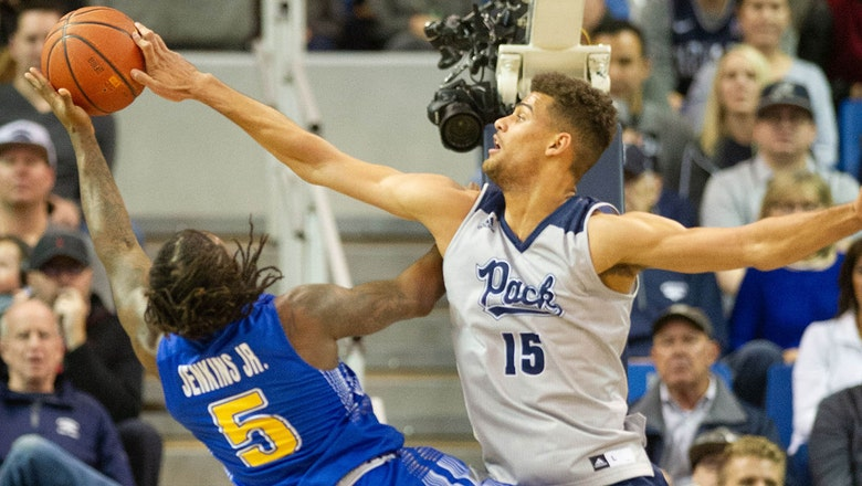 No. 7 Nevada improves to 11-0 after being tested by  South Dakota State
