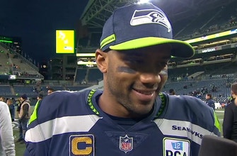 Russell Wilson tells Jen Hale how important Bobby Wagner is to the Seattle Seahawks success