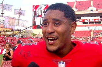Andrew Adams on three Tampa Bay interceptions after planning for 'big plays' the night before
