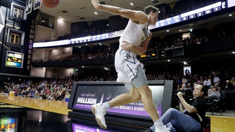 <p>               Vanderbilt forward Yanni Wetzell saves the ball from going out of bounds in the second half of an NCAA college basketball game against UNC Asheville, Monday, Dec. 31, 2018, in Nashville, Tenn. (AP Photo/Mark Humphrey)             </p>