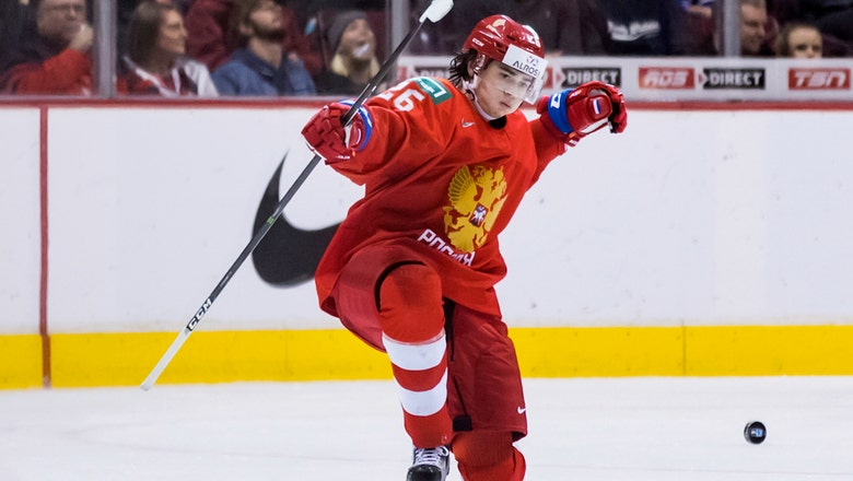 Russia beats Denmark 4-0 in world junior hockey championship