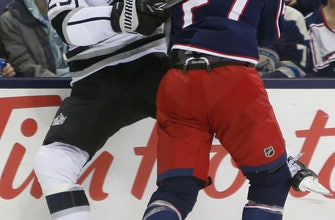 Panarin scores twice to lift Blue Jackets over Kings 4-1