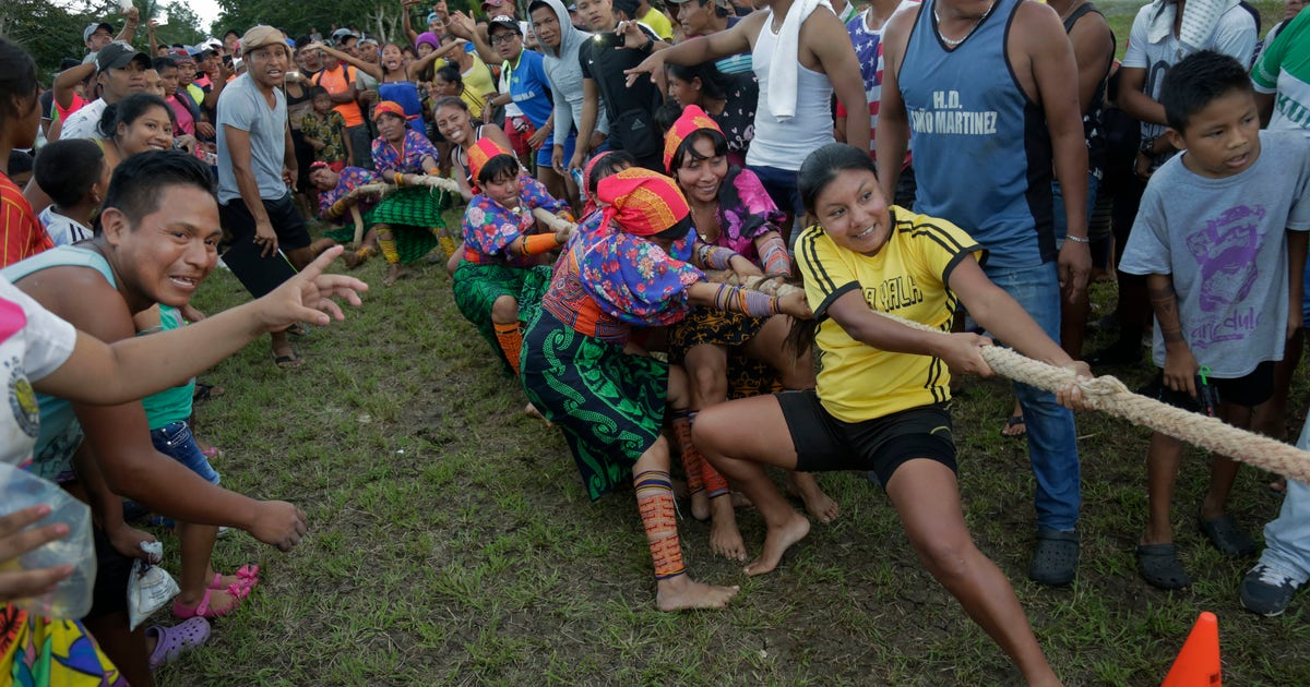 AP PHOTOS: Indigenous Panamanians compete in ancestral games
