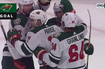 WATCH: Wild's Parise scores team-leading 16th goal of season