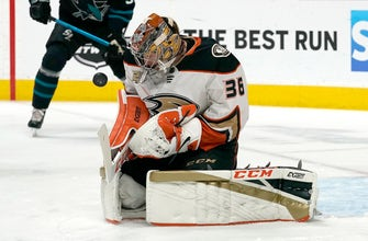 Ducks fall to Sharks, conclude road trip with 4th straight loss