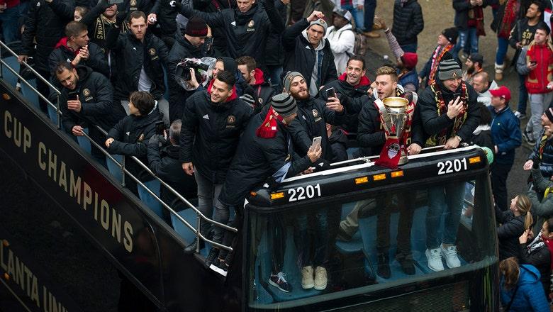 Atlanta United celebrates MLS title with parade ceremony