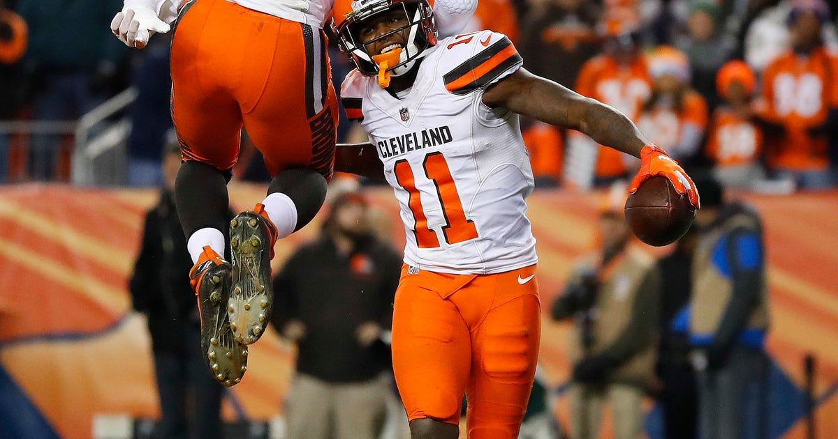 213d52254 Cleveland Browns beat injury-plagued Broncos 17-16