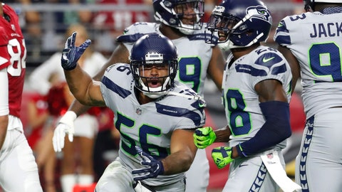 <p>               FILE - In this Sept. 30, 2018, file photo, Seattle Seahawks linebacker Mychal Kendricks gestures during the team's NFL football game against the Arizona Cardinals in Glendale, Ariz. Kendricks is eager to get back to the normalcy provided by life on a football field. The 28-year old Kendricks is returning from an eight-game suspension due to violations of the NFL's personal conduct policy stemming from guilty pleas to insider trading charges in September. (AP Photo/Rick Scuteri, File)             </p>