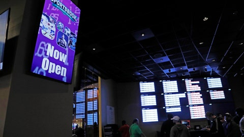 "<p>               In this Dec. 18, 2018 photo, a ""Now Open"" sign is displayed at the Pearl River Resort in Philadelphia, Miss. The sports book owned by the Mississippi Band of Choctaw Indians is the first to open on tribal lands outside of Nevada following a U.S. Supreme Court ruling earlier this year, a no-brainer business decision given the sports fans among its gambling clientele. (AP Photo/Rogelio V. Solis)             </p>"