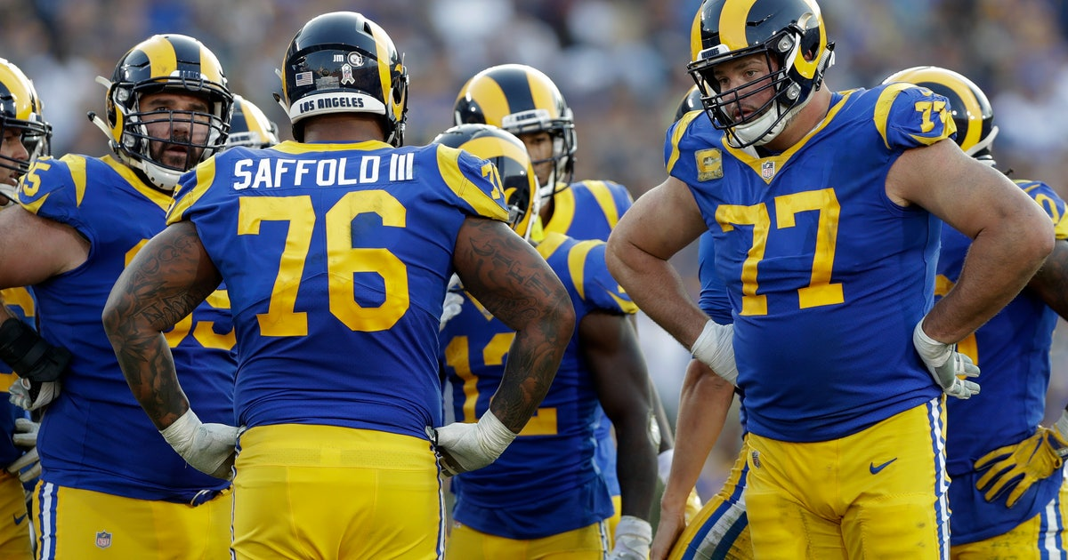 Rams  consistent O- line vows to rebound from Chicago woes  1f4f08f35