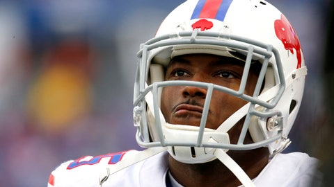 <p>               FILE - In this Nov. 25, 2018, file photo, Buffalo Bills running back LeSean McCoy (25) watches during the first half of an NFL football game against the Jacksonville Jaguars in Orchard Park, N.Y. McCoy returned to practice on a limited basis Thursday, Dec. 13, 2018, a day after being held out because of an injury to his left hamstring. Coach Sean McDermott said the team will continue evaluating McCoy's progress before determining whether he can play Sunday, when Buffalo hosts Detroit. (AP Photo/Jeffrey T. Barnes, File)             </p>
