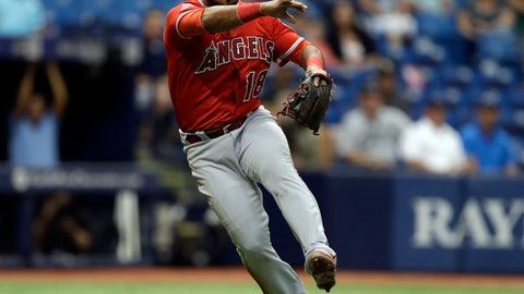 <p>               FILE - In this May 25, 2017, file photo, Los Angeles Angels third baseman Luis Valbuena throws out Tampa Bay Rays' Kevin Kiermaier on a sacrifice bunt during the fifth inning of a baseball game in St. Petersburg, Fla. Major League Baseball players Luis Valbuena and Jose Castillo have been killed in a car crash in Venezuela. MLB tweeted late Thursday, Dec. 6, 2018, the 33-year-old Valbuena and 37-year-old Castillo died. Both were playing for Cardenales de Lara in the Venezuelan league. (AP Photo/Chris O'Meara, File)             </p>