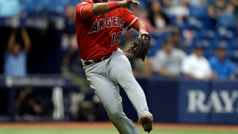 Former Angels infielder Luis Valbuena killed in car crash in Venezuela