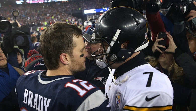 Colin Cowherd doesn't think that Steelers-Patriots is a real rivalry