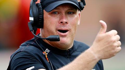 <p>               FILE - In this Sept. 15, 2018, file photo, Temple head coach Geoff Collins gestures in the second half of an NCAA college football game against Maryland, in College Park, Md. Georgia Tech has hired Temple coach Geoff Collins to replace Paul Johnson as the Yellow Jackets coach. Collins, a Conyers, Georgia native, is a former Florida and Mississippi State defensive coordinator who was 15-10 in two seasons at Temple. Georgia Tech announced the hire on Friday, Dec. 7, 2018,  and planned a news conference for later in the day. (AP Photo/Patrick Semansky, File)             </p>