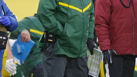 <p>               Green Bay Packers head coach Mike McCarthy watches a play on the field during the second half of an NFL football game against the Arizona Cardinals Sunday, Dec. 2, 2018, in Green Bay, Wis. The Packers have fired McCarthy and made offensive coordinator Joe Philbin the interim head coach. The move announced by team president Mark Murphy came after a stunning 20-17 loss on Sunday to the Arizona Cardinals, dropping Green Bay to 4-7-1. (AP Photo/Jeffrey Phelps)             </p>