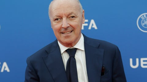 <p>               FILE - In this Aug. 30, 2018 file photo then CEO of Juventus Giuseppe Marotta arrives for the UEFA Champions League draw at the Grimaldi Forum, in Monaco. Former Juventus director Marotta has officially joined Inter Milan as CEO for sport, Marotta announced the news in a video message on the club's official twitter account on Thursday, Dec. 13, 2018. (AP Photo/Claude Paris, file)             </p>