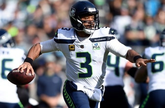 Russell Wilson jokes about shoe toss against 49ers