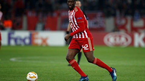 "<p>               FILE - In this Thursday, Nov. 8, 2018 file photo, Olympiakos' Yaya Toure controls the ball during a Group F Europa League soccer match against Dudelange at Georgios Karaiskakis stadium in the port of Piraeus, near Athens. Former Barcelona and Manchester City midfielder Yaya Toure has left Olympiakos following a disappointing return to the Greek club.  The four-time African Footballer of the Year officially left Olympiakos Tuesday, Dec. 11, the club announcing that the two sides had ""mutually agreed to end their cooperation."" (AP Photo/Thanassis Stavrakis, File)             </p>"